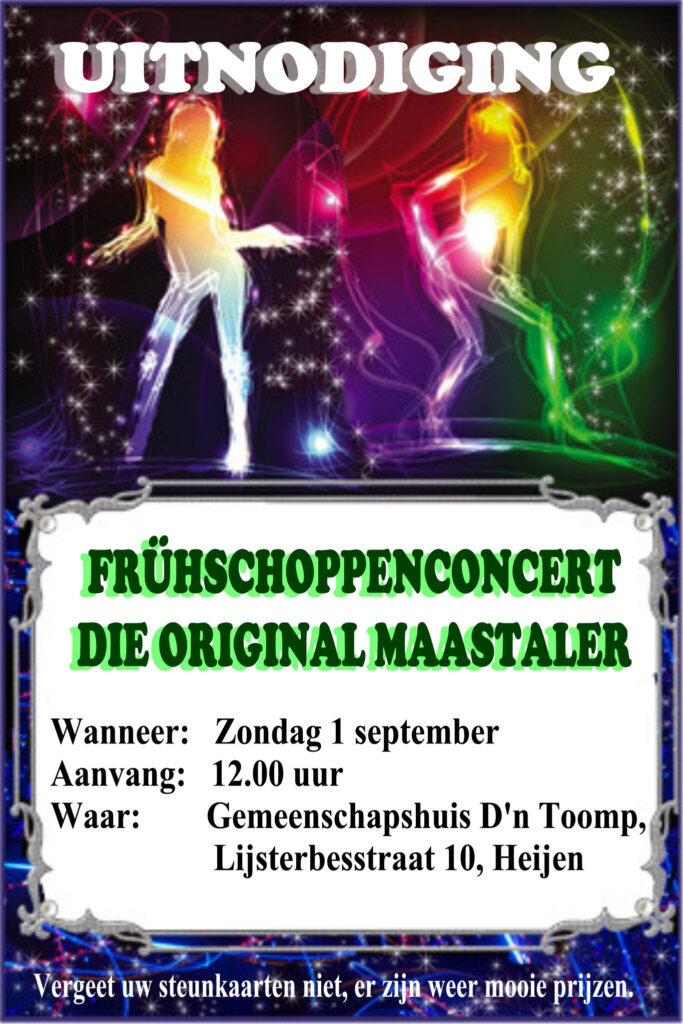 Kermis concert Die Original Maastaler