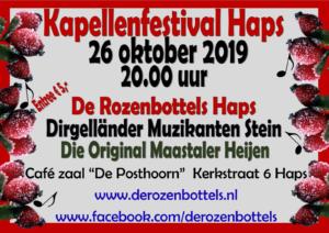 Kapellen Festival Rozenbottels Haps