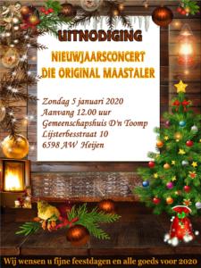 Nieuwjaarsconcert Die Original Maastaler
