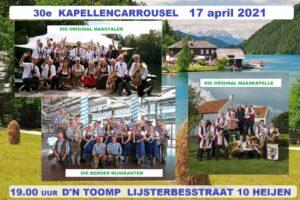 Kapellencarrousel 2021 Die Original Maastaler